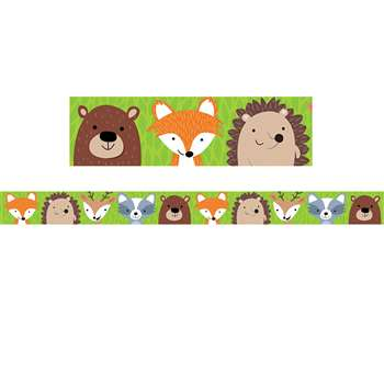 Woodland Friends Border No 1, CTP8384