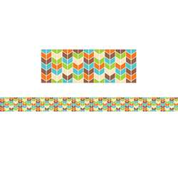 Chevron Border No 2 Woodland Friends, CTP8385