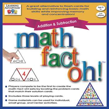 Math Fact Oh Addition & Subtraction, CTU2163