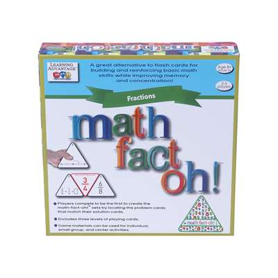 Math-Fact-Oh Fractions, CTU2171