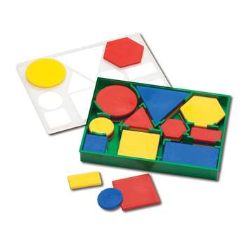 Attribute Blocks Plastic Desk Set, CTU7101
