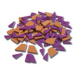 Fraction Pattern Blocks 1/2Cm Thickness, CTU7135
