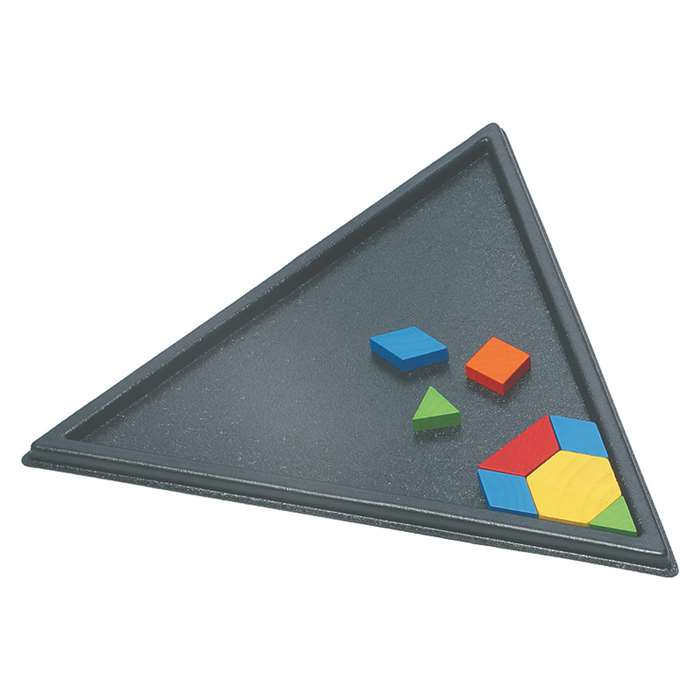Triangle Pattern Block Tray, CTU7142