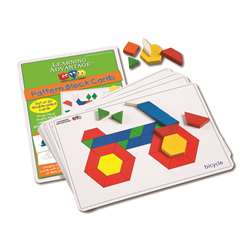 Pattern Block Cards By Learning Advantage