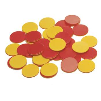 Two Color Plastic Counters 200/St, CTU7209