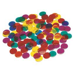 "3/4"" Transparent Counters 1000/St, CTU7221"