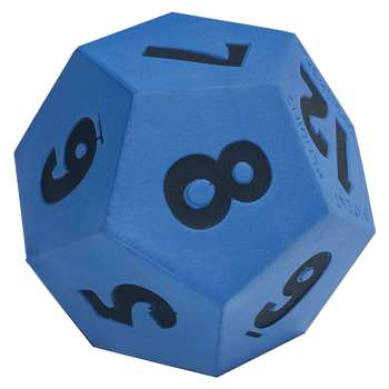 Jumbo 12-Sided Foam Die, CTU7398