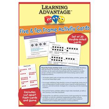 Five & Ten Frame Activity Cards, CTU7407