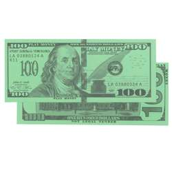 $100 Bills Set Of 50 By Learning Advantage