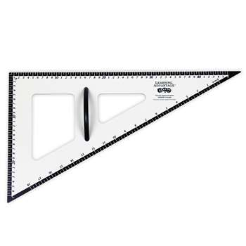 Dry Erase Magnetic Triangle 30/60/90 By Learning Advantage