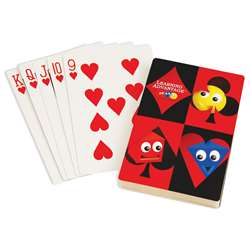 Giant Playing Cards 4.25 X 7.75In By Learning Advantage