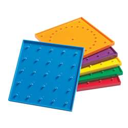 6In Double Sided Geoboards By Learning Advantage