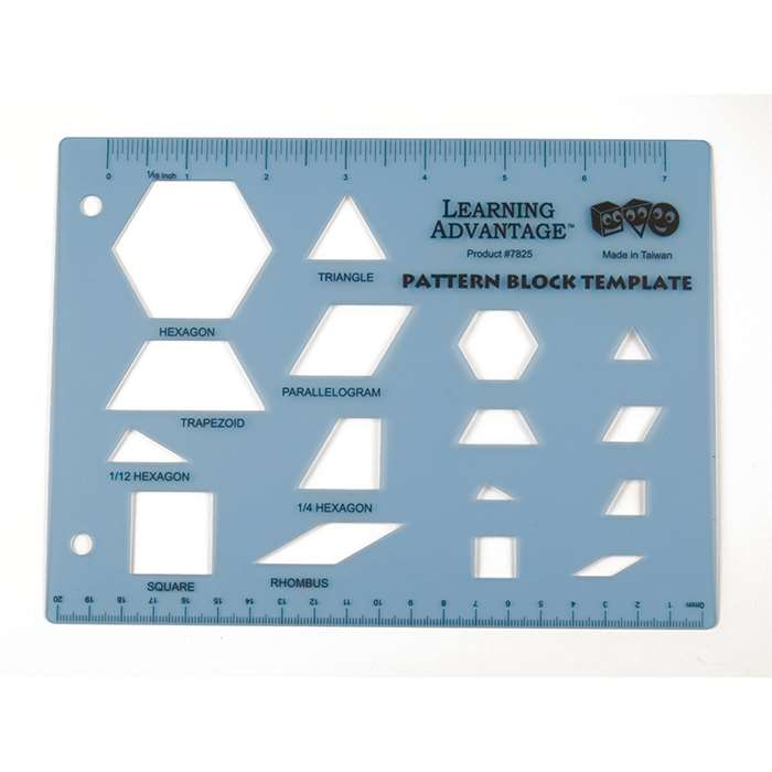 Pattern Block Template, CTU7825