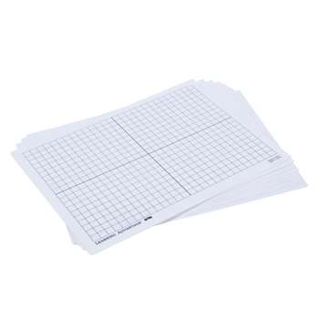 Xy Axis Dry Erase Boards Set Of 10, CTU7854