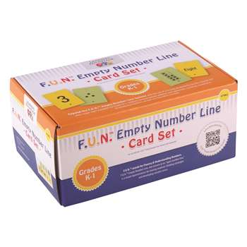 Fun Empty Number Line Cards Only Gr K-1, CTU7982