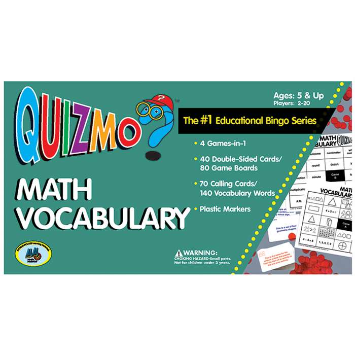 Quizmo Math Vocabulary By Learning Advantage