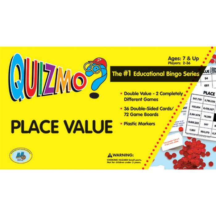 Quizmo Place Value By Learning Advantage