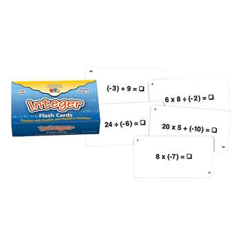 Integer Flash Cards, CTU8692