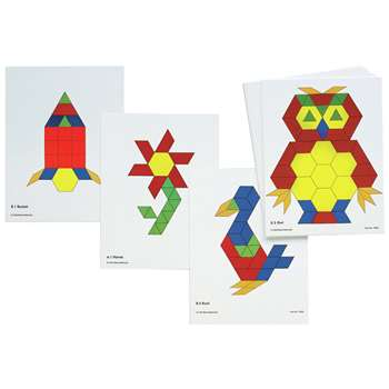 Pattern Block Activity Cards, CTU8837