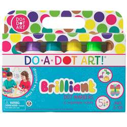 Do-A-Dot Art Washable Brilliant 6Pk By Do-A-Dot Art