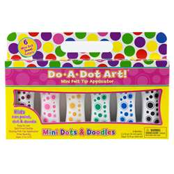 Do A Dot Markers 6Pk Mini Jewel Washable Tone By Do-A-Dot Art