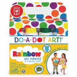 Do-A-Dot Markers 4 Asst By Do-A-Dot Art