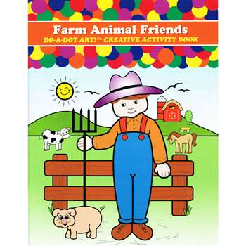 Farm Animals Activity Book By Do-A-Dot Art