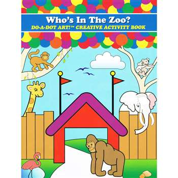Zoo Animals Activity Book By Do-A-Dot Art