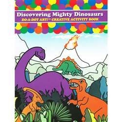 Dinosaurs Activity Book By Do-A-Dot Art