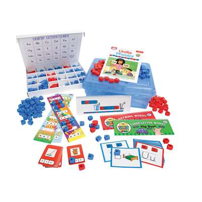 Unifix Letter Sounds Activity Kit By Didax