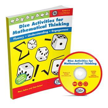 Dice Activities For Mathematical Thinking Resource Book By Didax