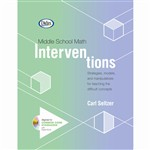 Middle School Math Interventions Book & Cd By Didax