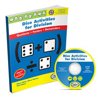 Dice Activities For Division Gr 4-6 By Didax