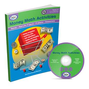 Money Math Activities Gr 3-6 By Didax