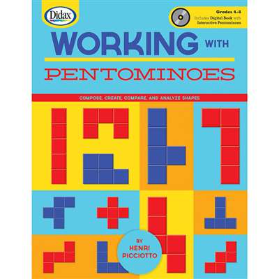 Working With Pentominoes Book & Cd By Didax
