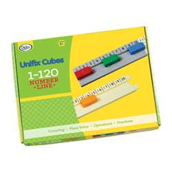 Unifix 1-120 Number Line, DD-211504
