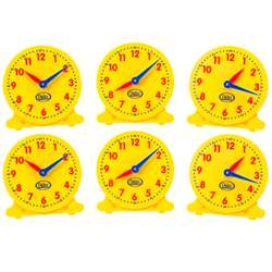 "5"" Student Clocks Set Of 6, DD-211550"