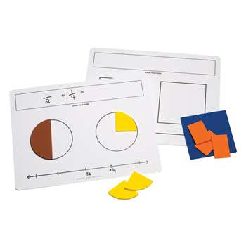Write On Wipe Off Fraction Mats, DD-211584