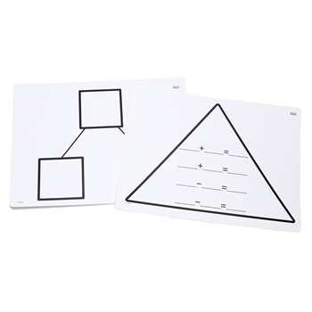Write On Wipe Off Addition Triangl Mats, DD-211763