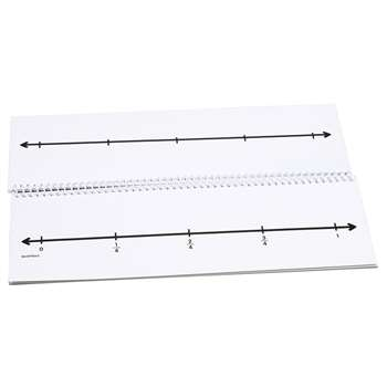 Fraction Number Line Flip Book, DD-211791