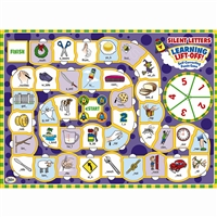 Language Learning Silent Letters Lift Off Puzzples, DD-212010