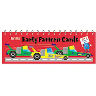 Unifix Early Pattern Book 3 Patterns In 4S By Didax