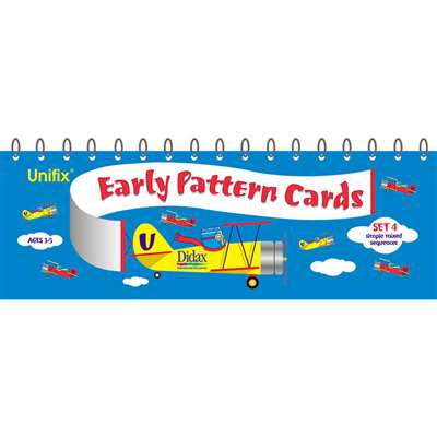 Unifix Early Pattern Book 4 Simple Mixed Sequences By Didax