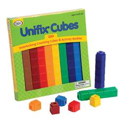 Unifix Cubes 100 Asst Colors By Didax