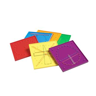 Double Sided Geoboard Set By Didax