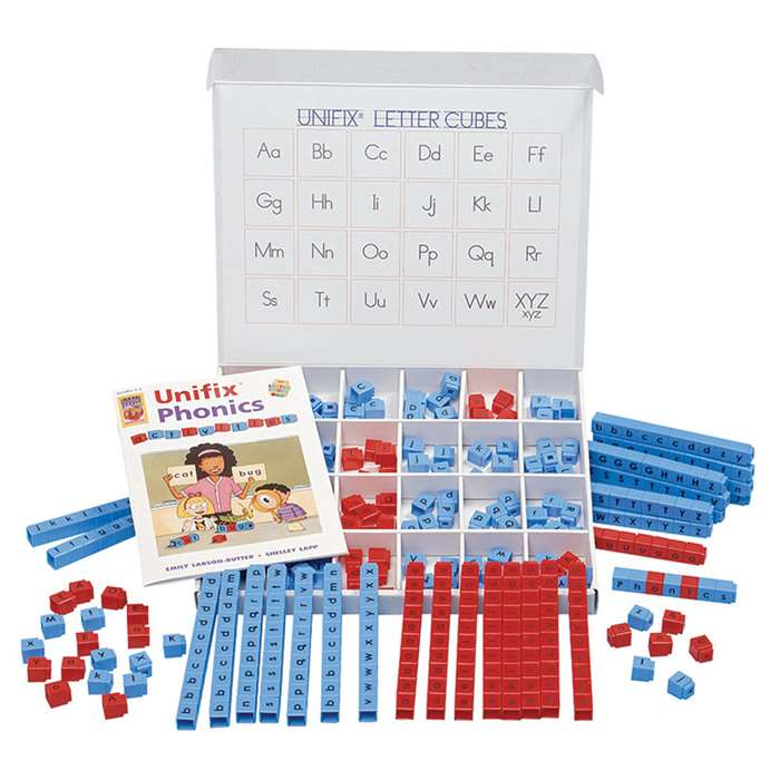 Unifix Letter Cubes Large Group Word Building Center By Didax