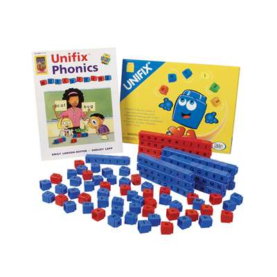 Unifix Letter Cubes Small Group Set By Didax