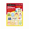 Pre Writing Pattern Posters 12 Set, DD-557094