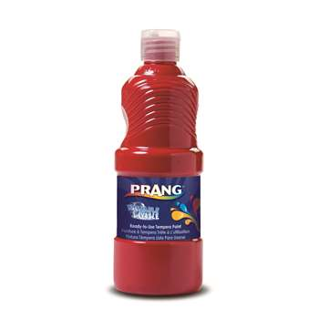 Prang Washable Paint 16Oz Red By Dixon Ticonderoga