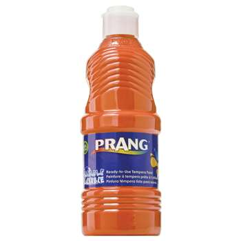 Prang Washable Paint 16Oz Orange By Dixon Ticonderoga